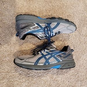 Asics Gel Venture 6 Size 14 Gray and Blue